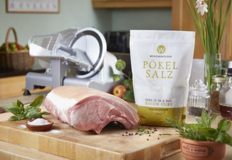 Pökel Salz Bay And Juniper Bacon Cure
