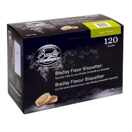 Apple Flavour Wood Bisquettes (120 pack)