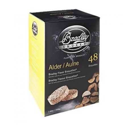 Alder Flavour Wood Bisquettes (48 pack)