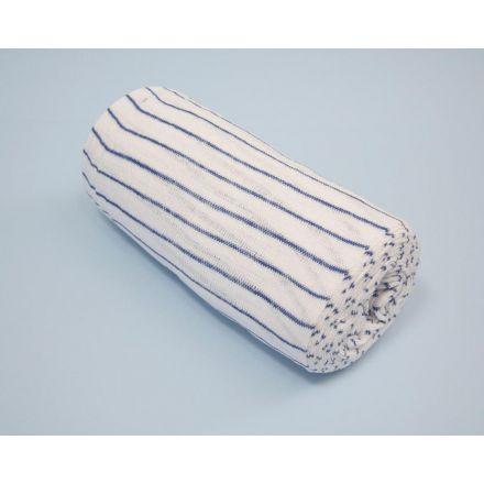 Blue & White Muslin Cloth/Stockinette