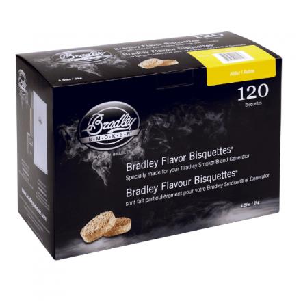 Alder Flavour Wood Bisquettes (120 pack)