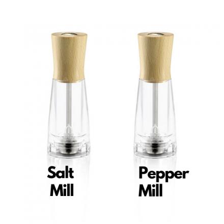 Tosca 15 Italian salt and pepper mill set