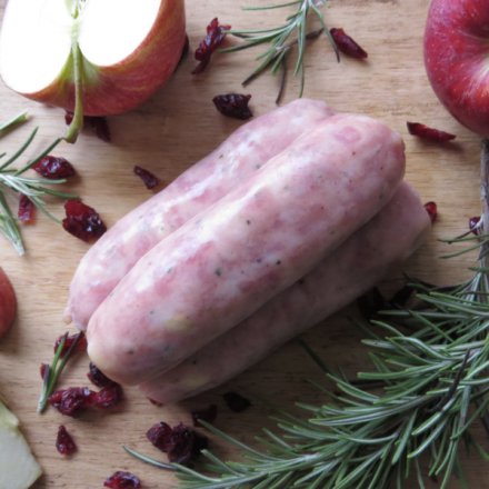 Cranberry Apple and Rosemary