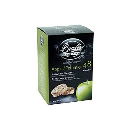 Apple Flavour Wood Bisquettes (48 pack)