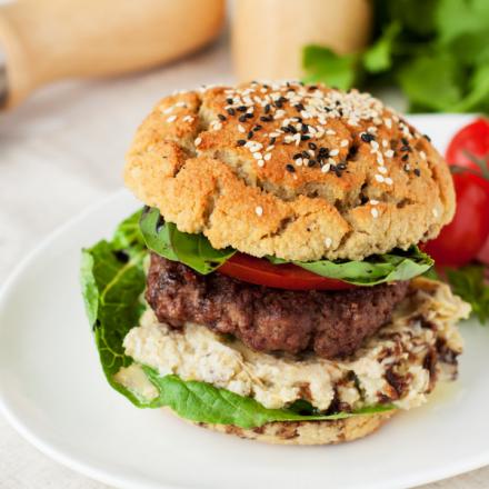 Gluten Free Burger 80 Mix