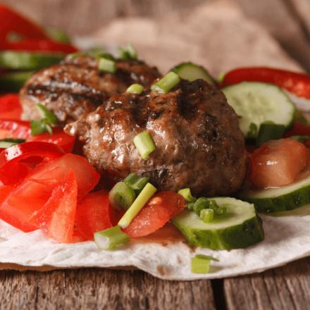 Moroccan burger
