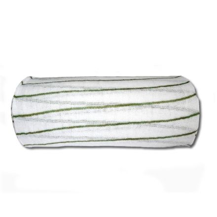 Green and white muslin cloth