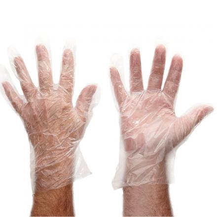 Large Disposable GD52 Polythene Gloves (100)