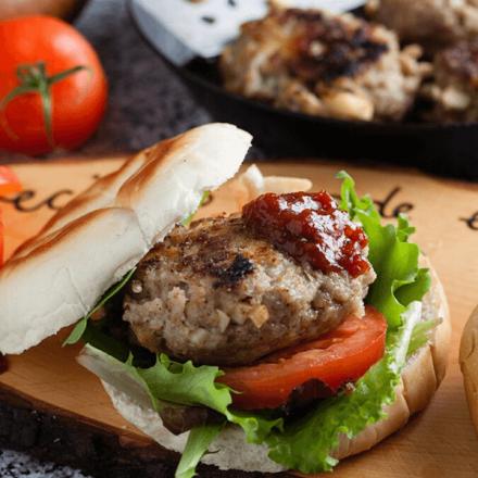 Pork and Apple Burger Mix