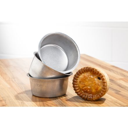 Pork Pie Tins (x3)