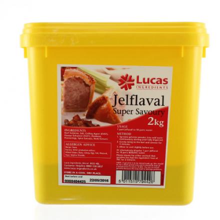 Pork Pie Jeflavel Super Savoury Gelatine