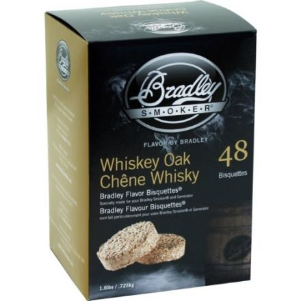 Whiskey Oak Flavour Wood Bisquettes (48 pack)